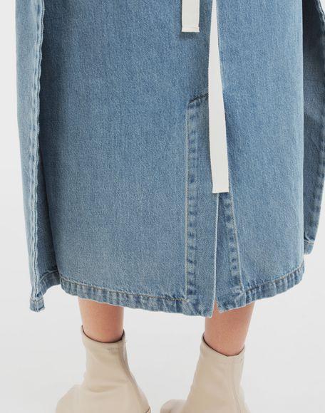 MM6 MAISON MARGIELA Юбка 2 в 1 Джинсовая юбка Для Женщин b