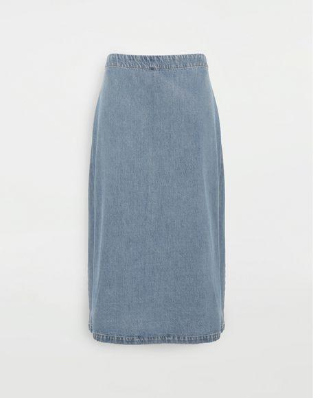 MM6 MAISON MARGIELA Юбка 2 в 1 Джинсовая юбка Для Женщин f