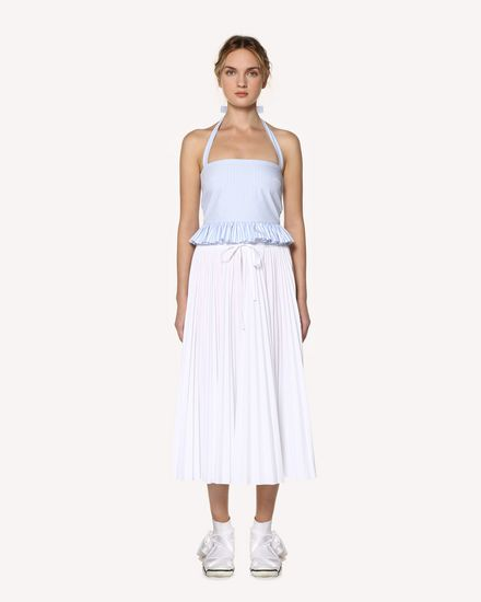 REDValentino Long skirt Woman RR0RAA70LUN 001 f