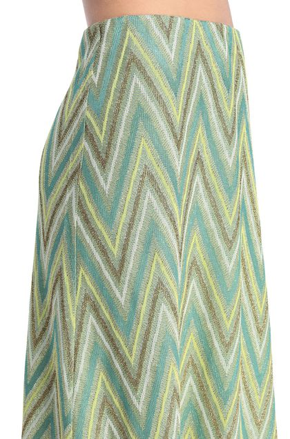 M MISSONI Skirt Acid green Woman - Front