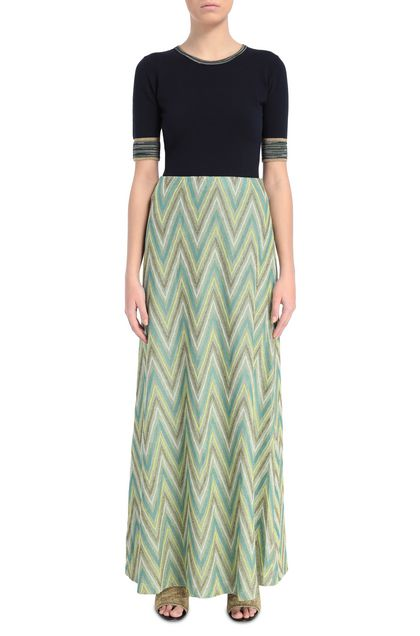 M MISSONI Skirt Acid green Woman - Back