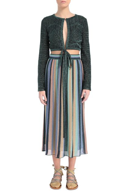 M MISSONI Skirt Light green Woman - Back