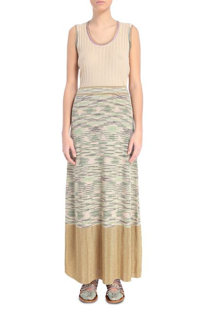 M MISSONI Skirt Sand Woman - Back