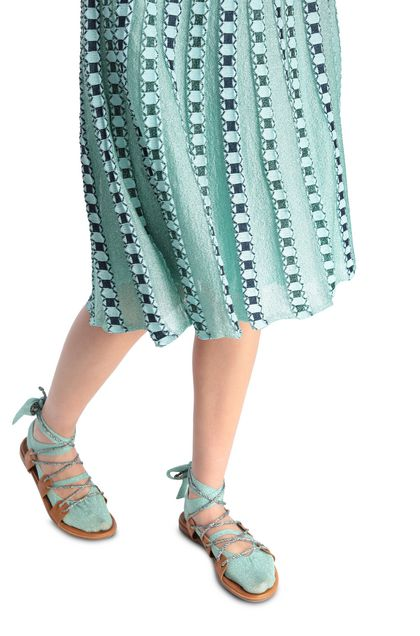 M MISSONI Falda Azul celeste Mujer - Parte delantera