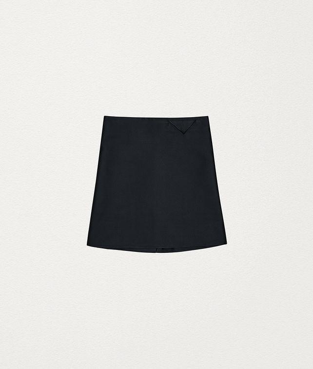BOTTEGA VENETA SKIRT IN SCUBA DUCHESSE Skirt Woman fp