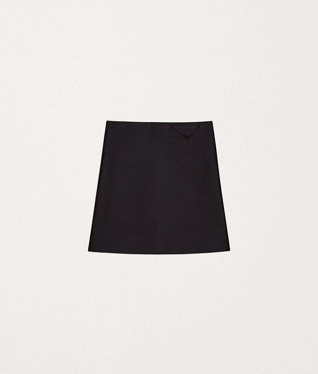 BOTTEGA VENETA SKIRT IN BONDED SATIN Skirt [*** pickupInStoreShipping_info ***] fp