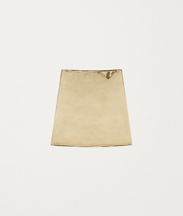 BOTTEGA VENETA SKIRT IN SATIN Skirt [*** pickupInStoreShipping_info ***] fp