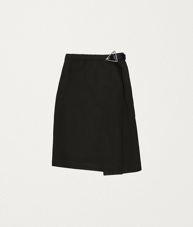 BOTTEGA VENETA SKIRT IN VISCOSE Skirt Woman fp