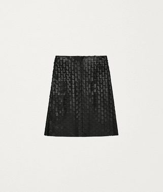 SKIRT IN PLONGÉ NAPPA