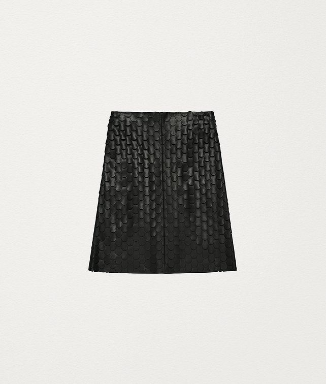 BOTTEGA VENETA SKIRT IN PLONGÉ NAPPA Skirt Woman fp