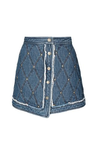 JUST CAVALLI Skirt Woman Miniskirt with chain f