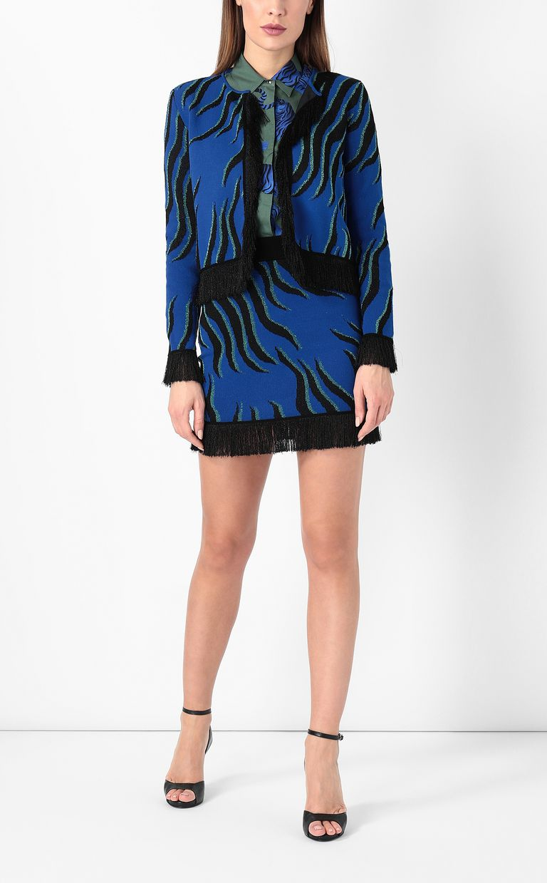 JUST CAVALLI Lurex miniskirt Skirt Woman d
