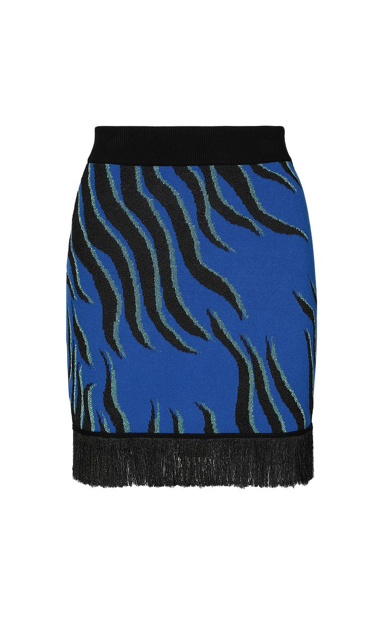 JUST CAVALLI Lurex miniskirt Skirt Woman f