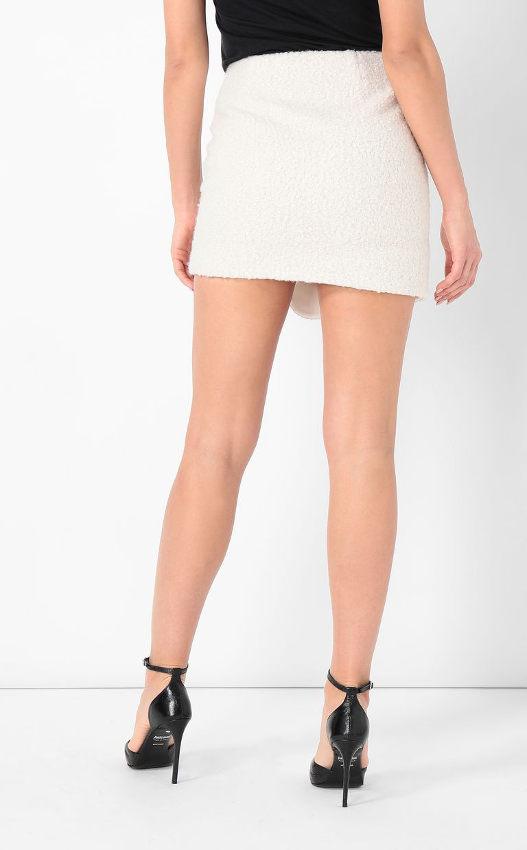 JUST CAVALLI Miniskirt with chain Skirt Woman a