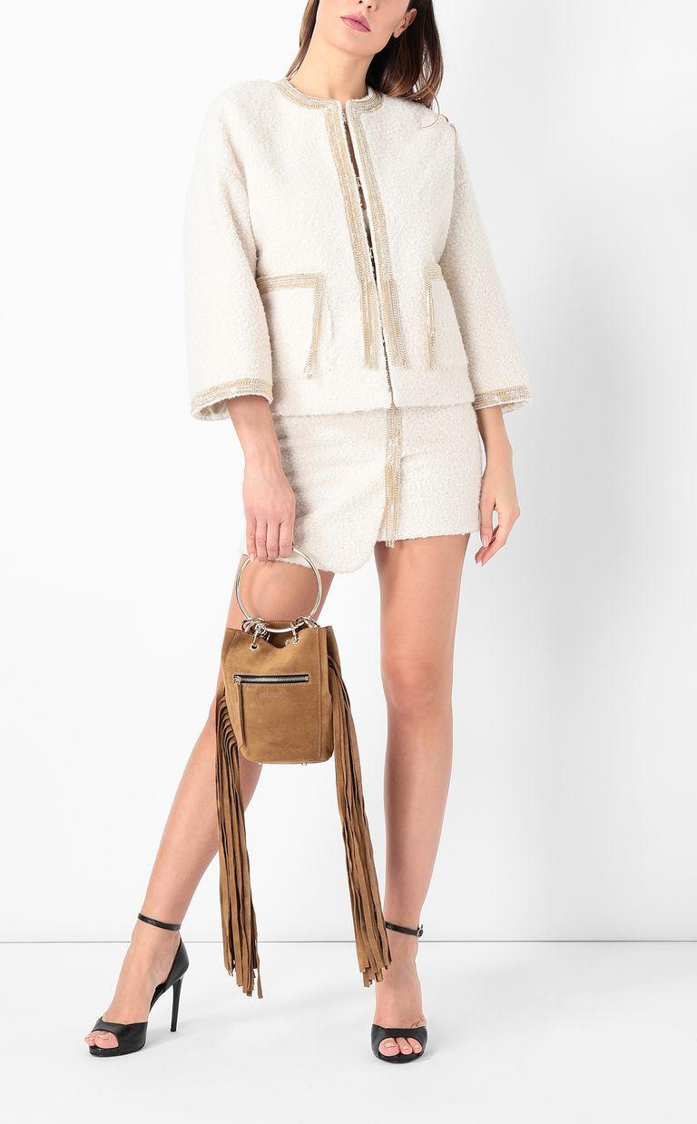 JUST CAVALLI Miniskirt with chain Skirt Woman d