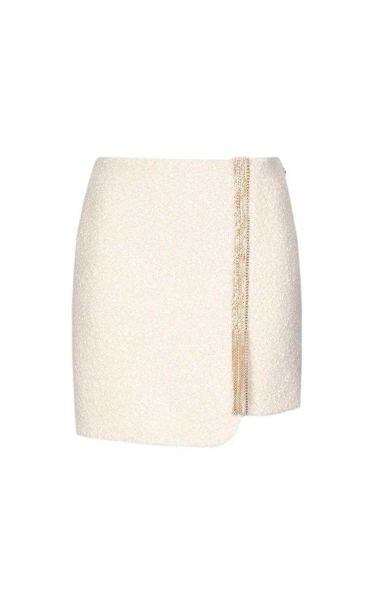 JUST CAVALLI Miniskirt with chain Skirt Woman f