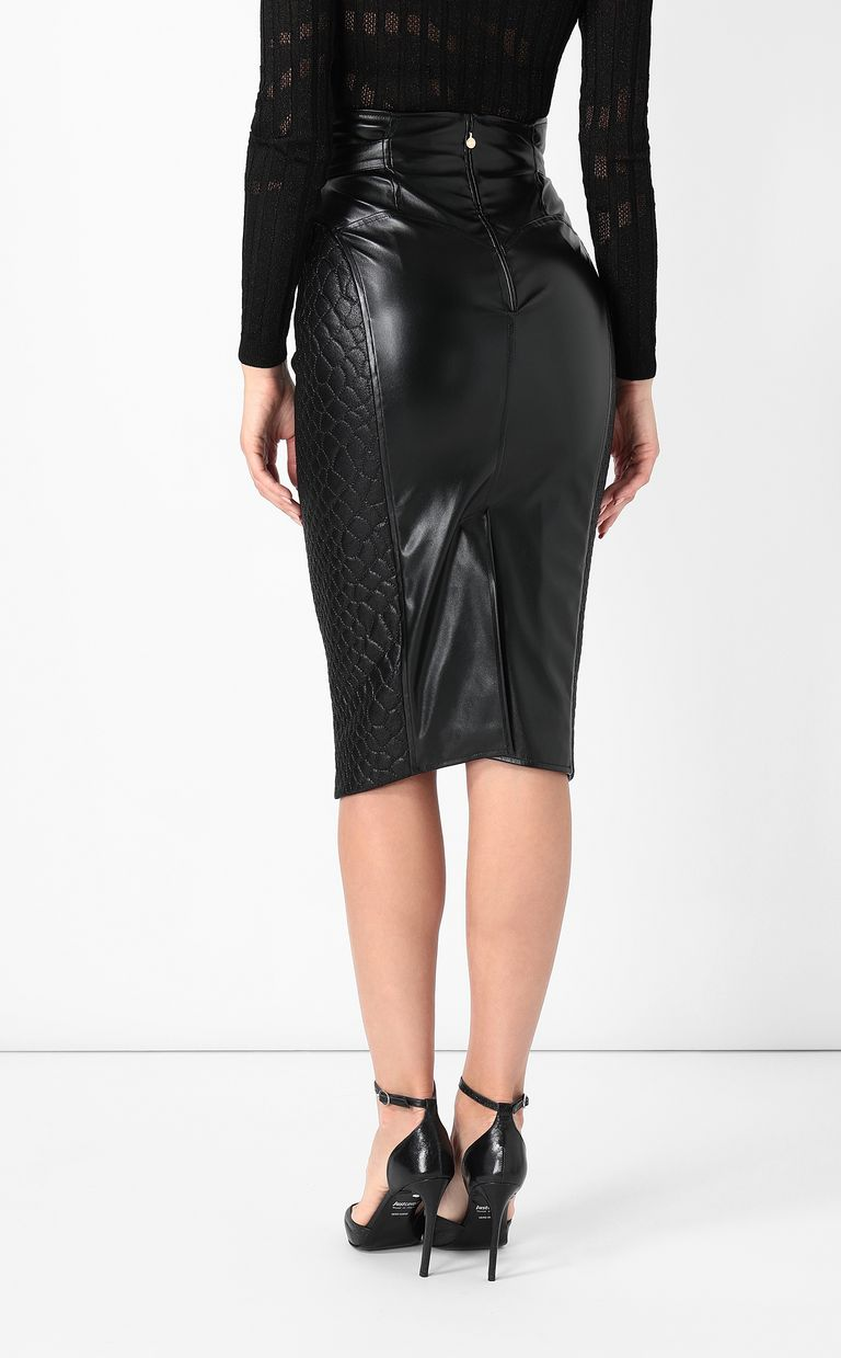 JUST CAVALLI Skirt in faux leather Skirt Woman a