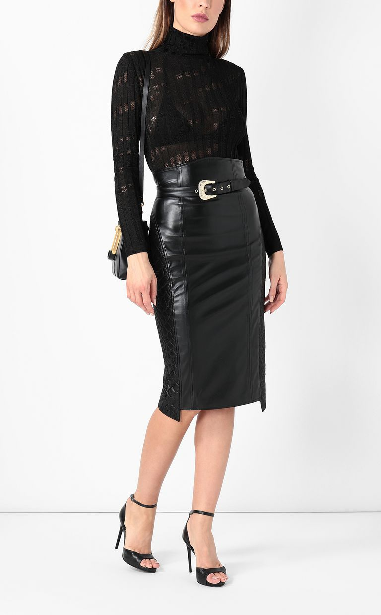JUST CAVALLI Skirt in faux leather Skirt Woman d