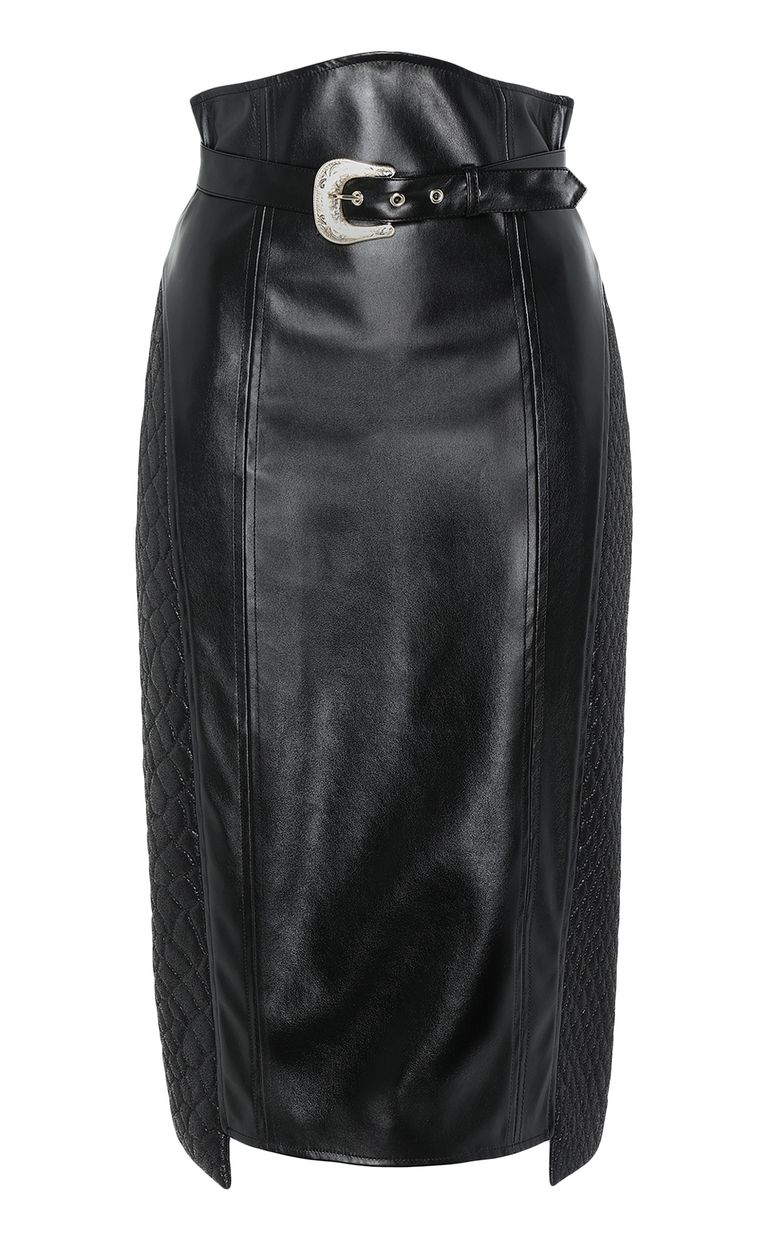 JUST CAVALLI Skirt in faux leather Skirt Woman f