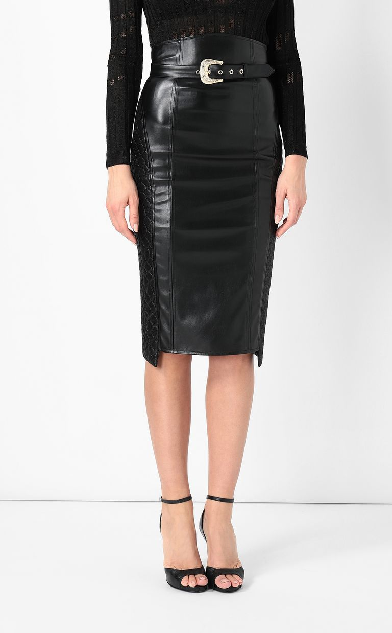 JUST CAVALLI Skirt in faux leather Skirt Woman r