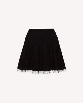 REDValentino Mini skirt Woman SR3RAC15497 0NO a