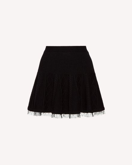 REDValentino Mini skirt Woman SR3KGA054EE 0NO a