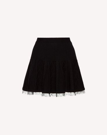 REDValentino SR3KGA054EE 0NO Mini skirt Woman a