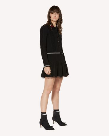 REDValentino SR3KGA054EE 0NO Mini skirt Woman d