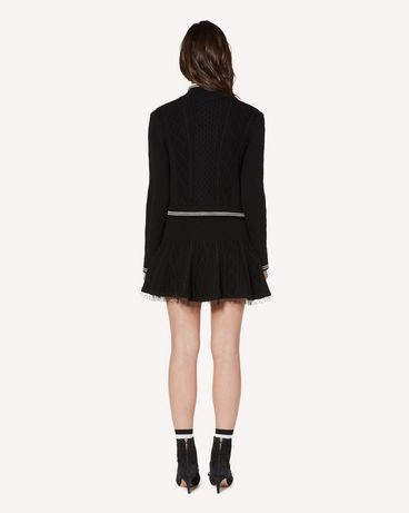 REDValentino SR3KGA054EE 0NO Mini skirt Woman r