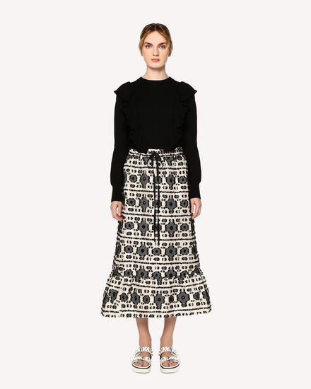 REDValentino Long skirt Woman RR0RAA80FHK 0NO f