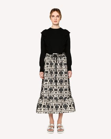 REDValentino RR0RAA80FHK 0NO Long skirt Woman f