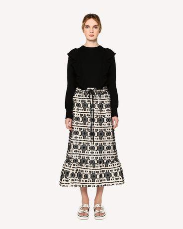 REDValentino RR0RAA80FHK 0NO Long and midi skirts Woman f