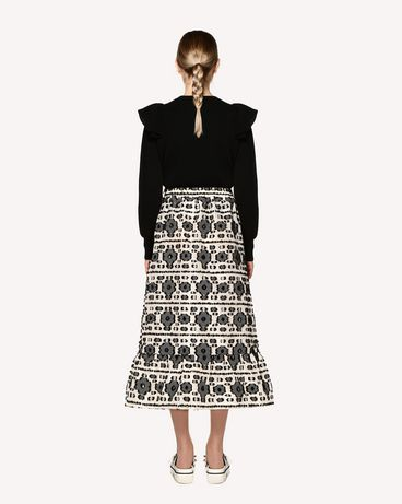 REDValentino RR0RAA80FHK 0NO Long and midi skirts Woman r