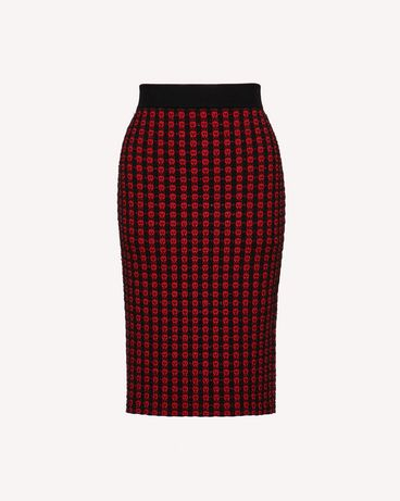 REDValentino SR3KGA034GL JY8 Long and midi skirts Woman a
