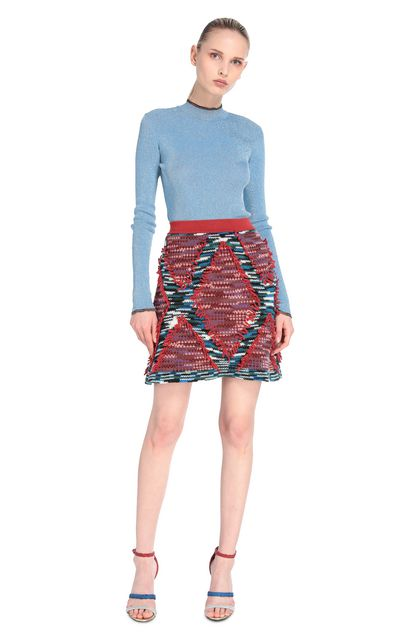 MISSONI Miniskirt Rust Woman - Back