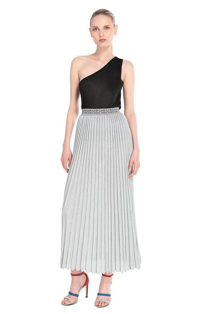 MISSONI Skirt Silver Woman - Back