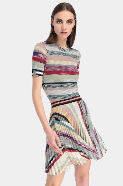 MISSONI Miniskirt Beige Woman - Front
