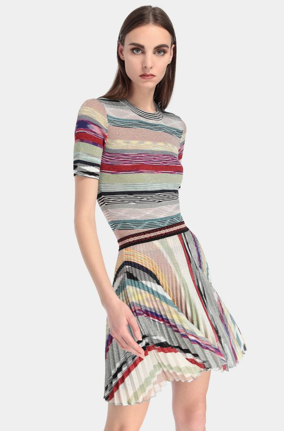 MISSONI Miniskirt Woman, Rear view