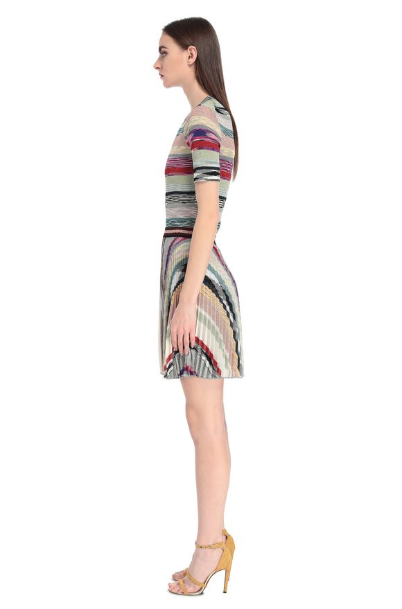 MISSONI Miniskirt Woman, Side view
