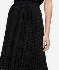 KARL LAGERFELD K/Dots Pleated Midi Skirt 9_f