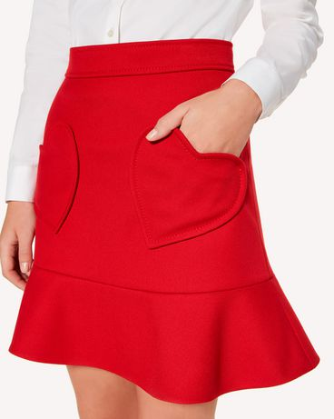 REDValentino SR3RAB801Y1 D05 Mini skirt Woman e