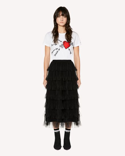 REDValentino Gonna midi Donna SR3RA00G4CD 0NO f