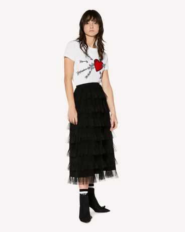 REDValentino SR3RA00G4CD 0NO Midi Skirt Woman d
