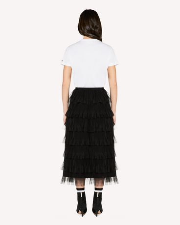 REDValentino SR3RA00G4CD 0NO Midi Skirt Woman r