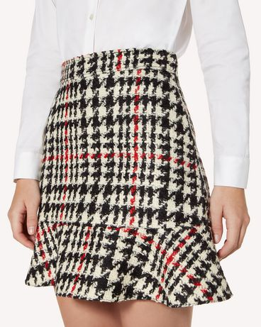REDValentino SR3RAC45499 0NO Mini skirt Woman e