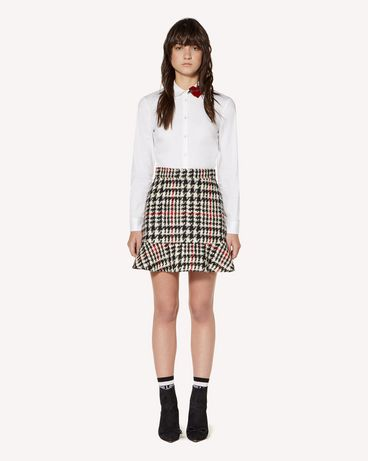 REDValentino SR3RAC45499 0NO Mini skirt Woman f