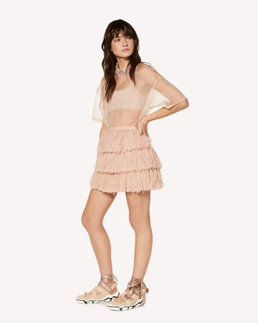 REDValentino SR3RA00K4DT N17 Mini skirt Woman d