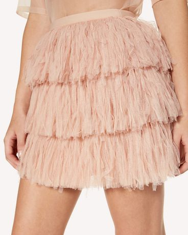 REDValentino SR3RA00K4DT N17 Mini skirt Woman e