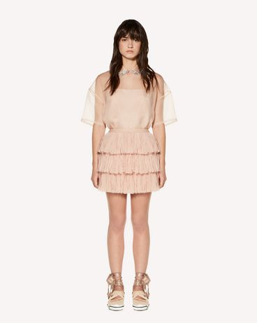 REDValentino SR3RA00K4DT N17 Mini skirt Woman f