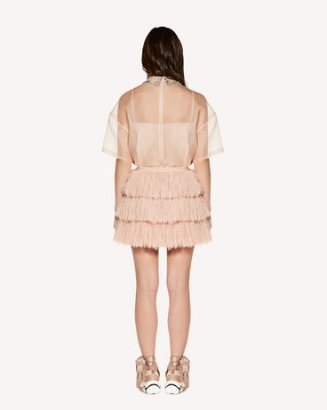REDValentino SR3RA00K4DT N17 Mini skirt Woman r